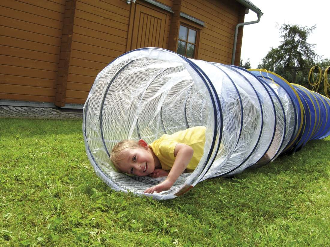 Eduplay Kriechtunnel transparent, 165cm