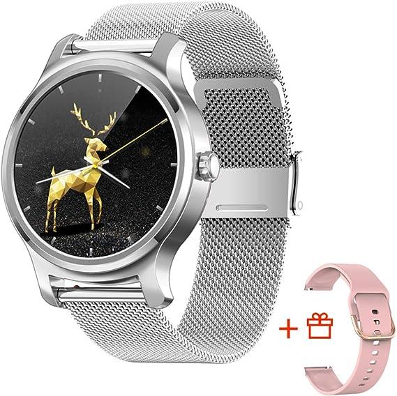 Amazon.com: SMA-R2 reloj inteligente para hombres Fitness ...
