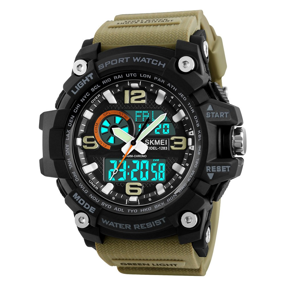 Skmei Military Series Analogue Digital Sports Watch