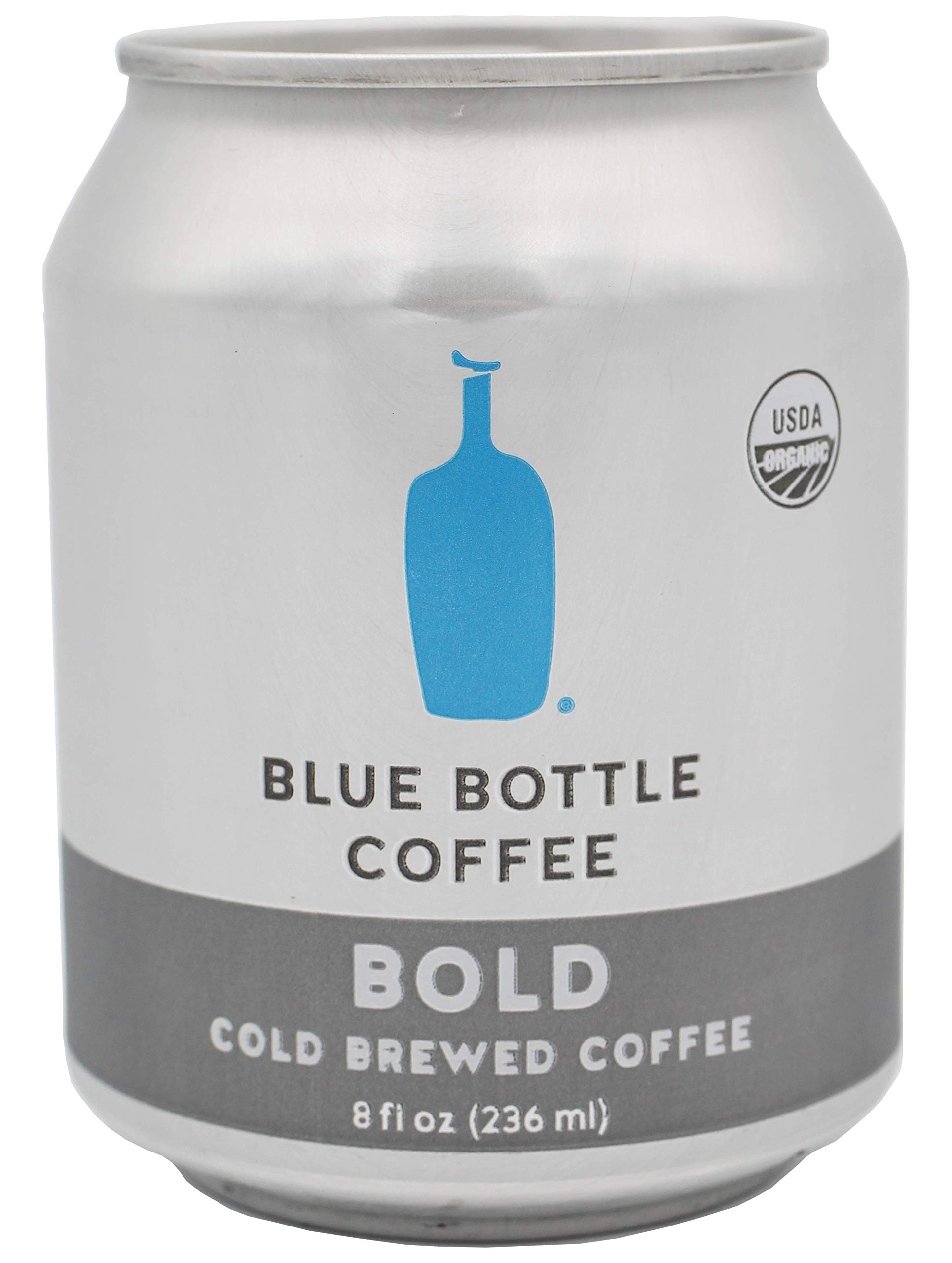 Blue Bottle Coffee| BOLD | Cold Brewed Coffee, 8 oz | pack of 6|