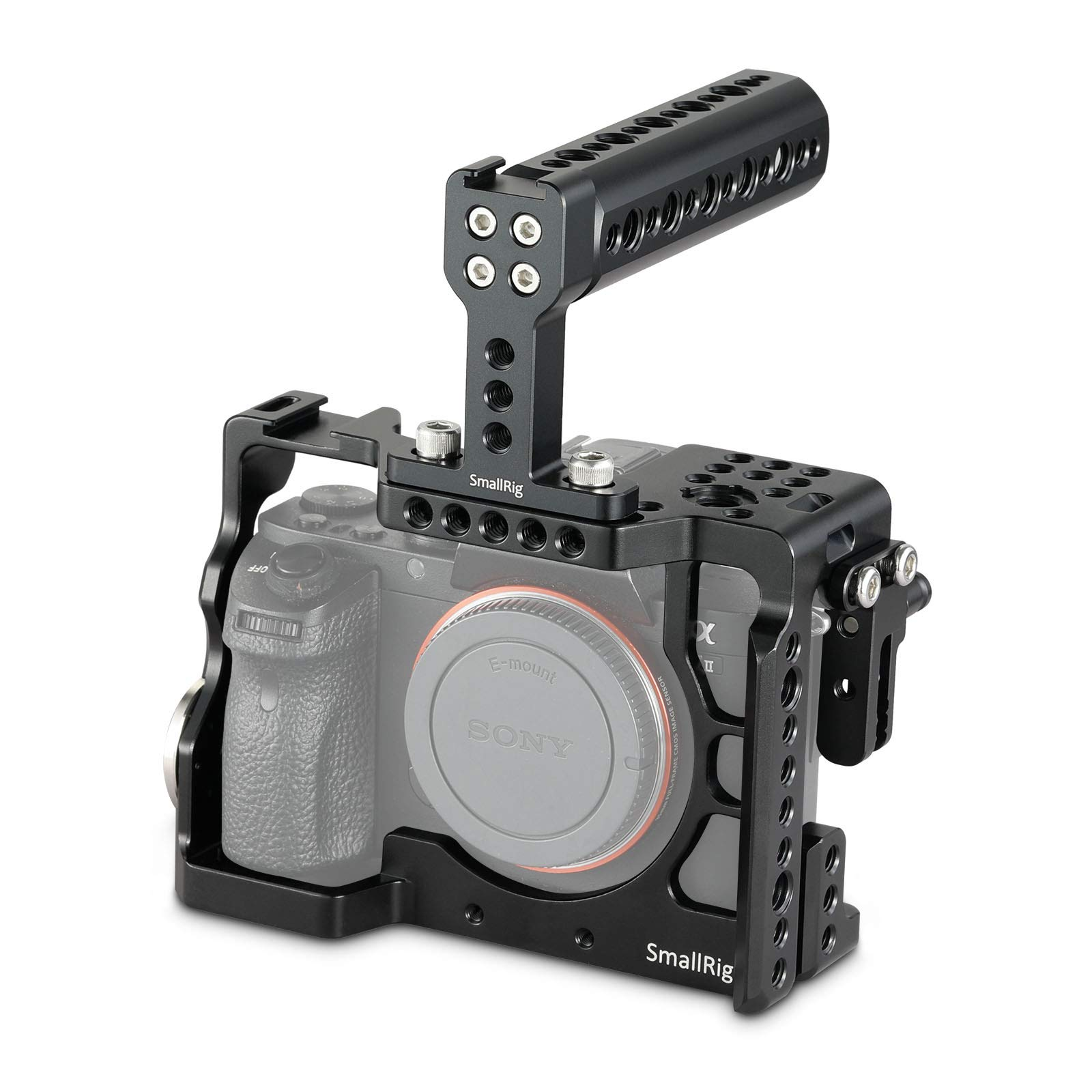 SMALLRIG 2014 Camera Cage for Sony Alpha A7 II/A7R II/A7S...