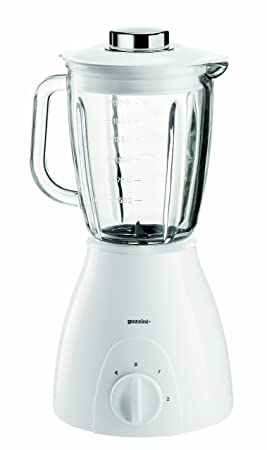 Guzzini 28210011 G-Plus - Batidora de vaso (400 W), color blanco