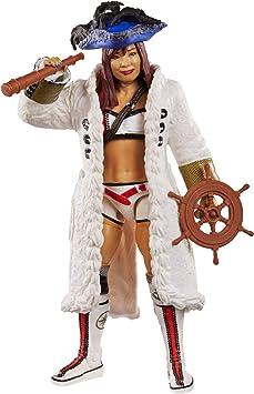 WWE Kairi Sane Accesorios para mujer MATTEL ELITE SERIE 73 figura de lucha NXT