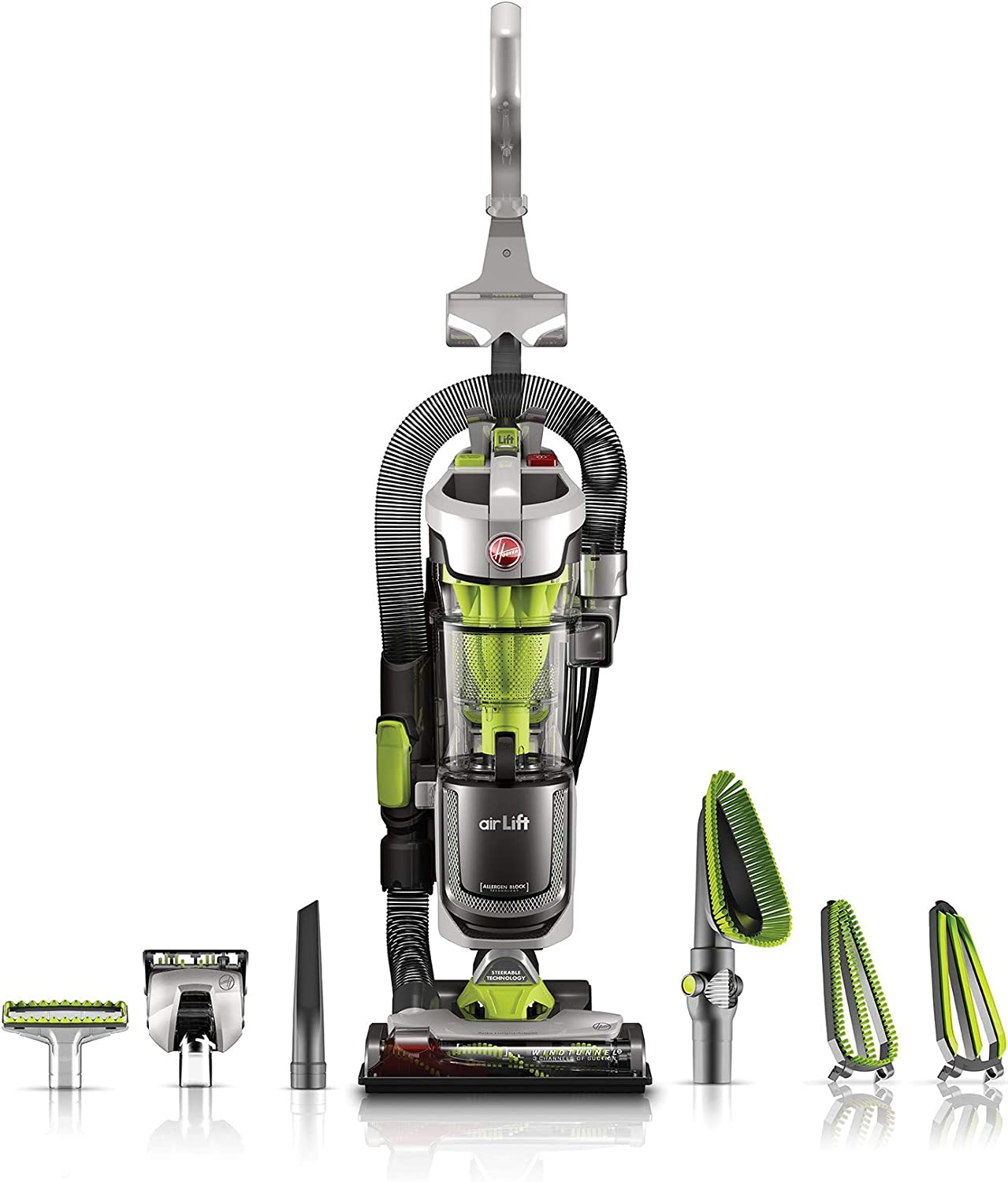 PROD-Hoover UH72511 Air Lift Deluxe Upright Vacuum(Renewed)