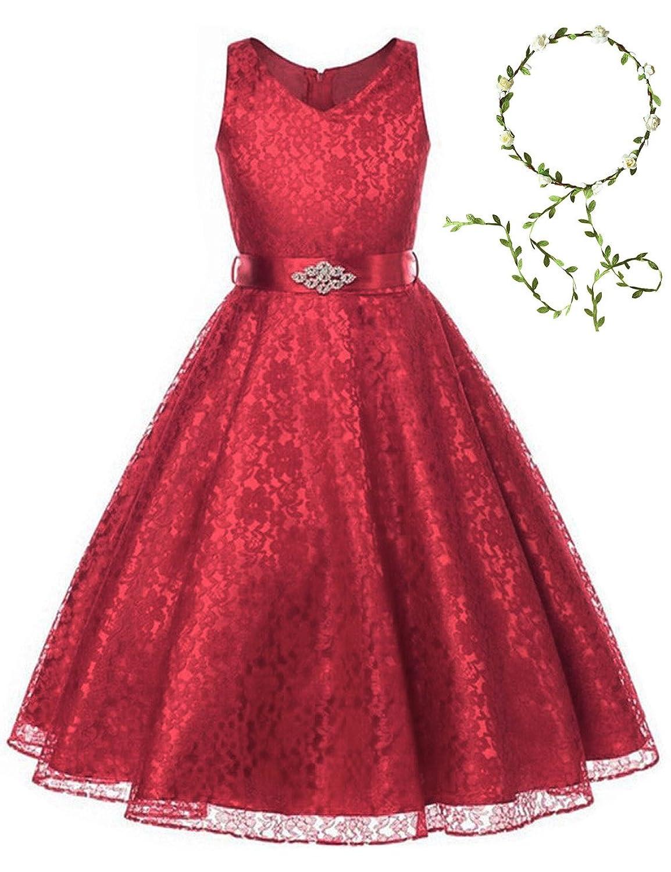 a0ba43c71 21KIDS Gorgeous Elegant Long Wedding Party Bridesmaid Princess Gown Pageant  Dress