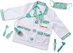 Melissa & Doug Doctor Role Play Costume Dress-Up Set (7 pcs) Frustration-Free Packaging