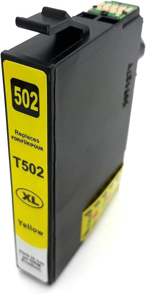 D&C - Cartuchos de Tinta compatibles con Epson 502 XL, XP-5100 XP ...