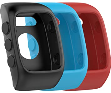 Funda protectora de repuesto para relojes Polar M430, de silicona suave y flexible, 3Pcs