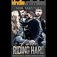Four Riding Hard: MMFM Bisexual Reverse Harem Romance (Four at War)