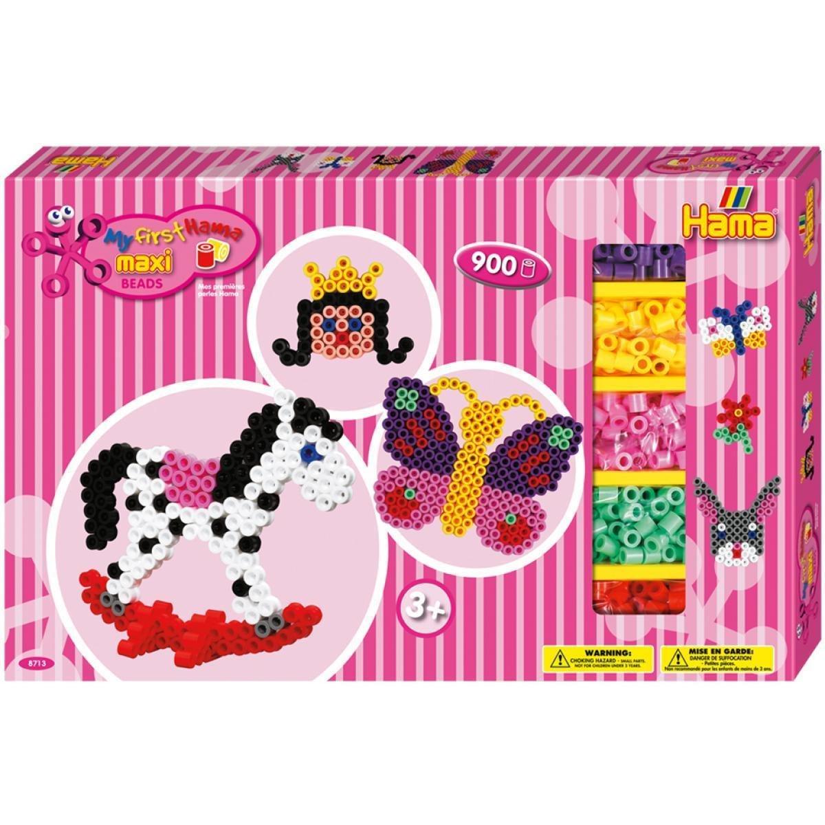 Hama 8571 Maxi Secchiello di Perline in Colori Pastello