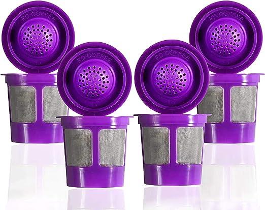 Vasos de filtro reutilizables compatibles con Keurig K-Cups para ...