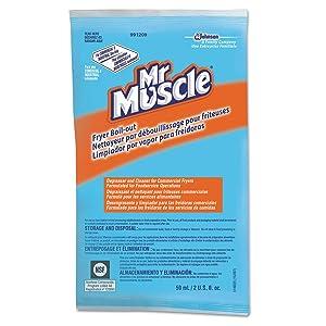 Mr. Muscle 991209 Fryer Boil-Out 2oz Packet 36/Carton