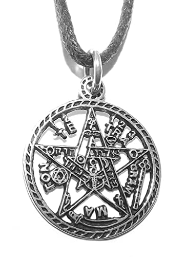 Sterling silver tetragrammaton pentagram pentacle pendant amazon sterling silver tetragrammaton pentagram pentacle pendant aloadofball Choice Image