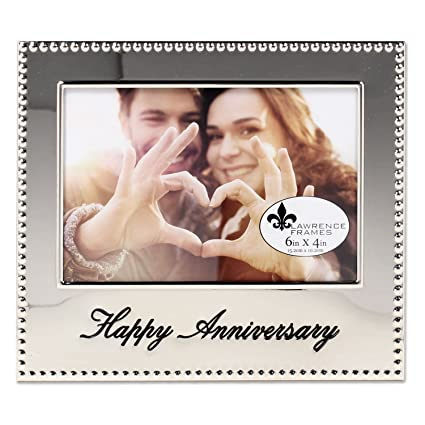 Lawrence Frames 4x6 Happy Anniversary Picture Frame