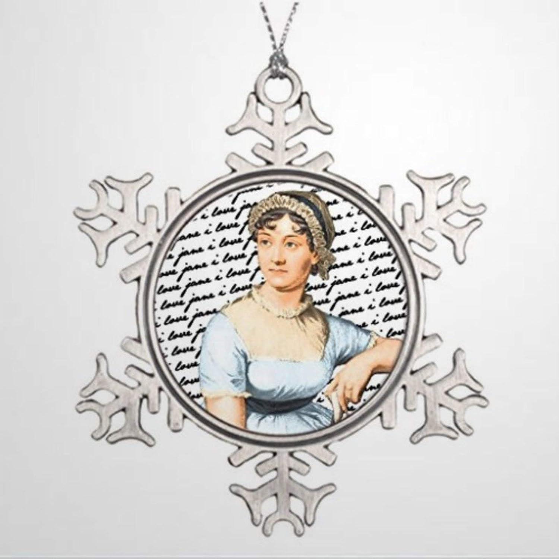 BYRON HOYLE Ideas for Decorating Christmas Trees I Love Jane Austen Make Your Own Christmas Tree Decor Christmas Snowflake Ornaments Xmas Decor Wedding Ornament Holiday Present