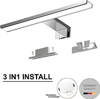 Luz led para espejo 230V| Lámparas de baño | Iluminación para espejo de pared |
