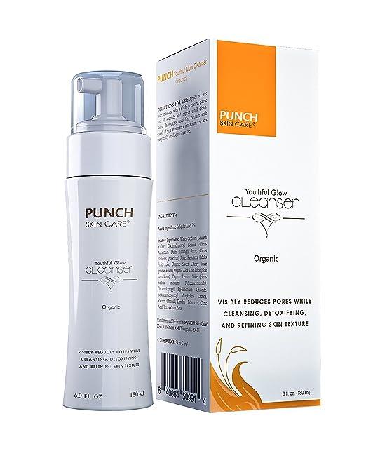 PUNCH Skin Care Organic Facial Wash