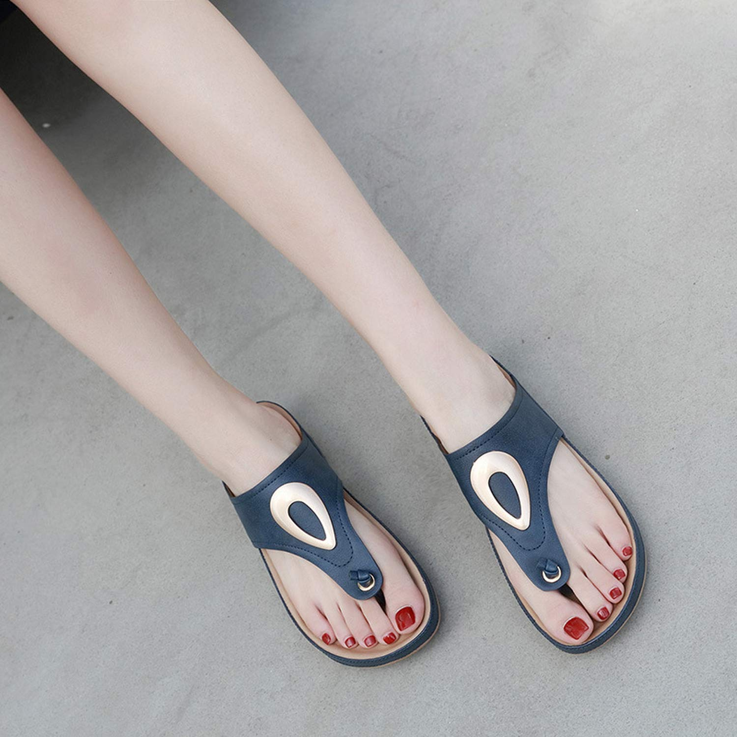 Mywine 2019 Summer Slippers Women Shoes Plus Size Women Slippers Thick Sole Beach Slippers Summer Ladies Shoes