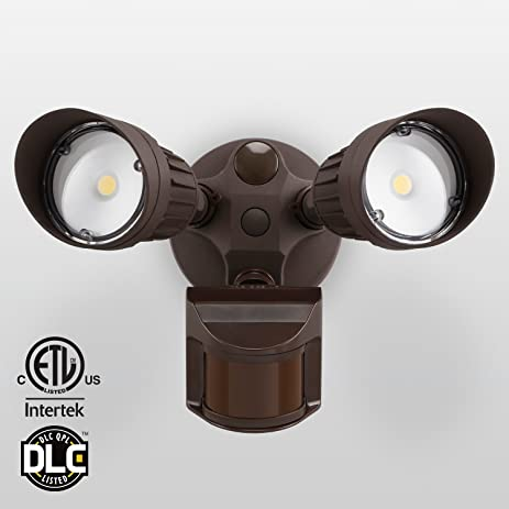 20w dual head motion activated led outdoor security light 20w dual head motion activated led outdoor security light photocell included newly mozeypictures Image collections