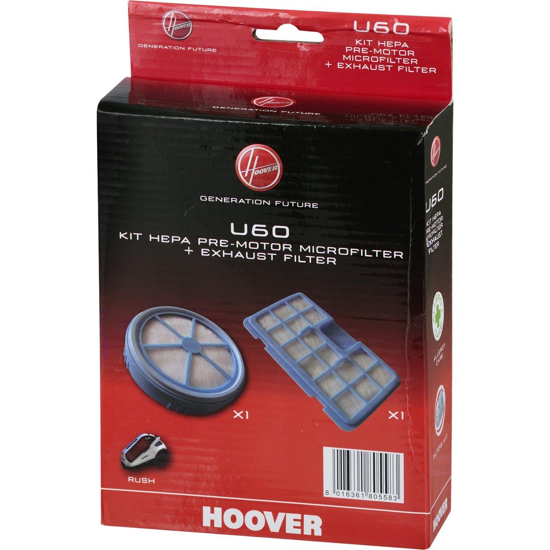 Acquisto Hoover 35600936 Kit Filtro Pre-Motore e Filtro Scarico Motore U60 Prezzo offerta