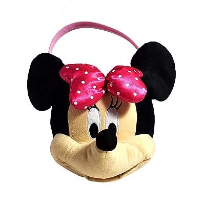 Minnie Mouse Medium Plush Basket: Toys & Games