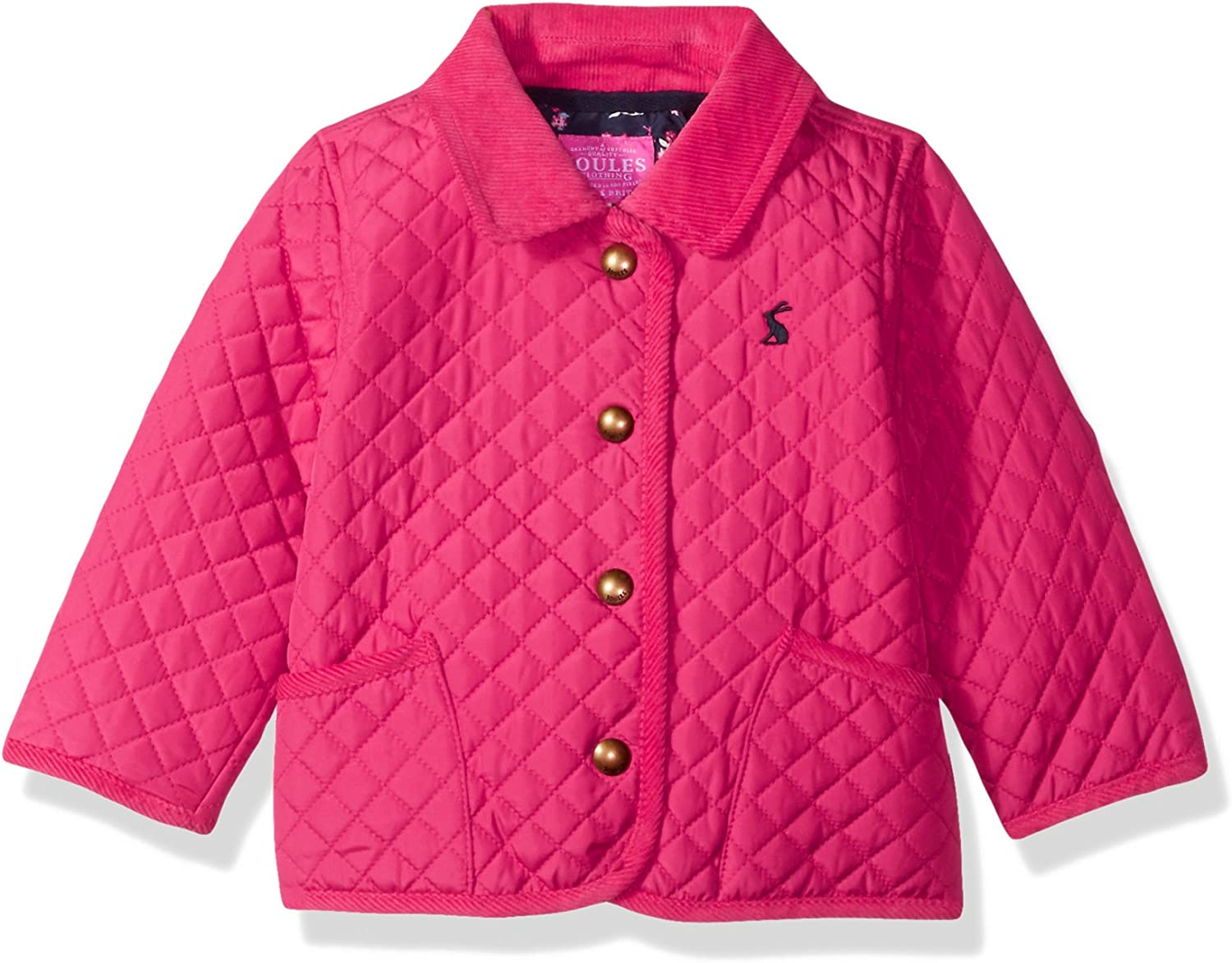 Joules Baby Girls Mabel Quilted Coat