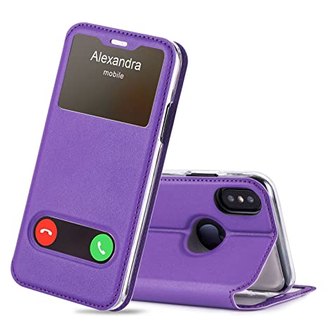 coque magnetique iphone xs violet