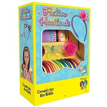 Amazon Com Creativity For Kids Fashion Headbands Craft Kit Makes
