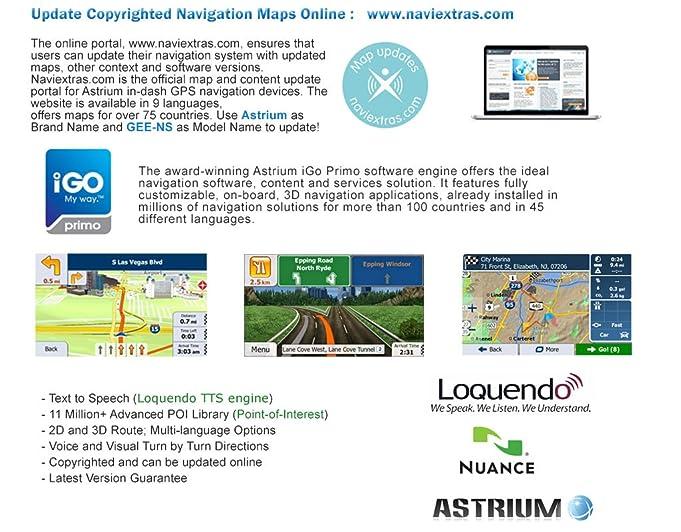 Amazoncom Astrium GEE2865NS79 Ford Indash GPS Navigation Stereo