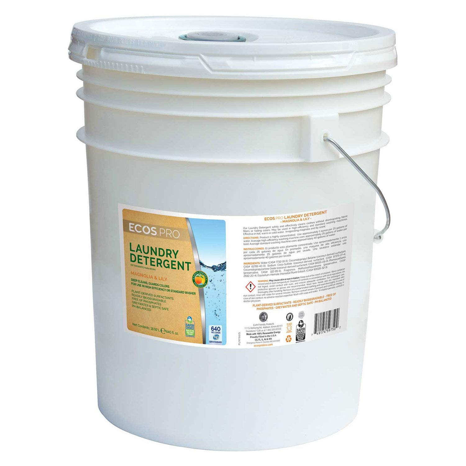 5 gal. High Efficiency Liquid Laundry Detergent by Earth Friendly Products