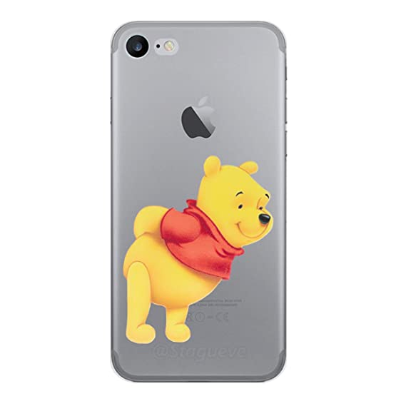newest 4d6dc 3d652 iPhone 5/5s Winnie the Pooh Silicone Phone Case / Gel Cover for Apple  iPhone 5s 5 SE / Screen Protector & Cloth / iCHOOSE / Bend