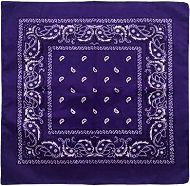 Opromo Pañuelo 100% algodón Paisley, 22