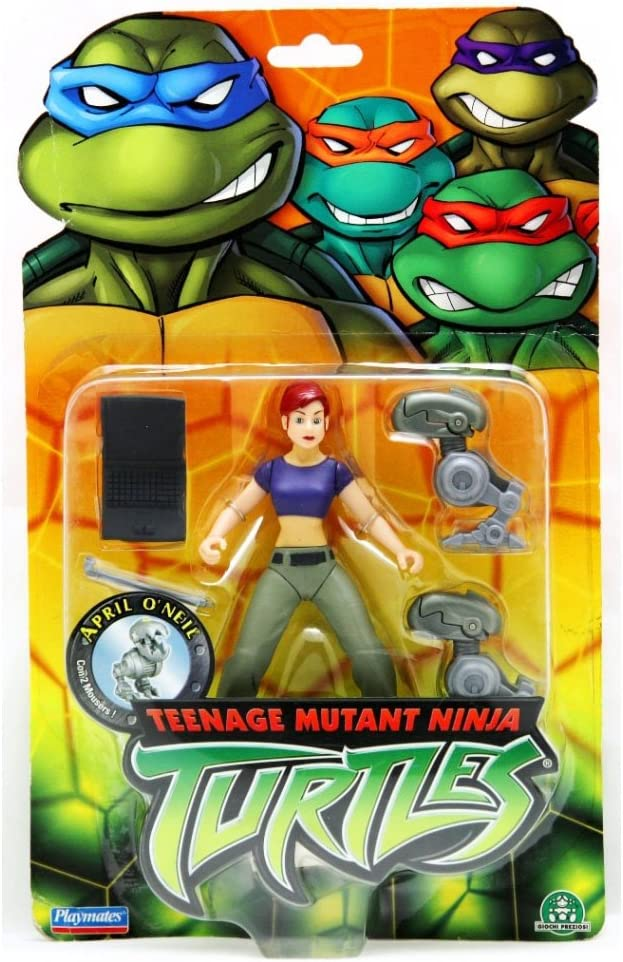 Amazon.com: Teenage Mutant Ninja Turtle – Figura de abril de ...