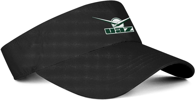 UAZ Logo Mens Womens Hats Sun Visor Cap Flat Hat Printing Caps