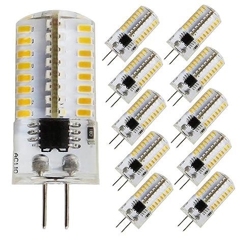zhenming g4 led bulb bin pin led light bulb 3w(30w halogen equivalent) 360 lumens 110v 120v warm white 3000k(pack of 10)  practical guide to leds 3 switching
