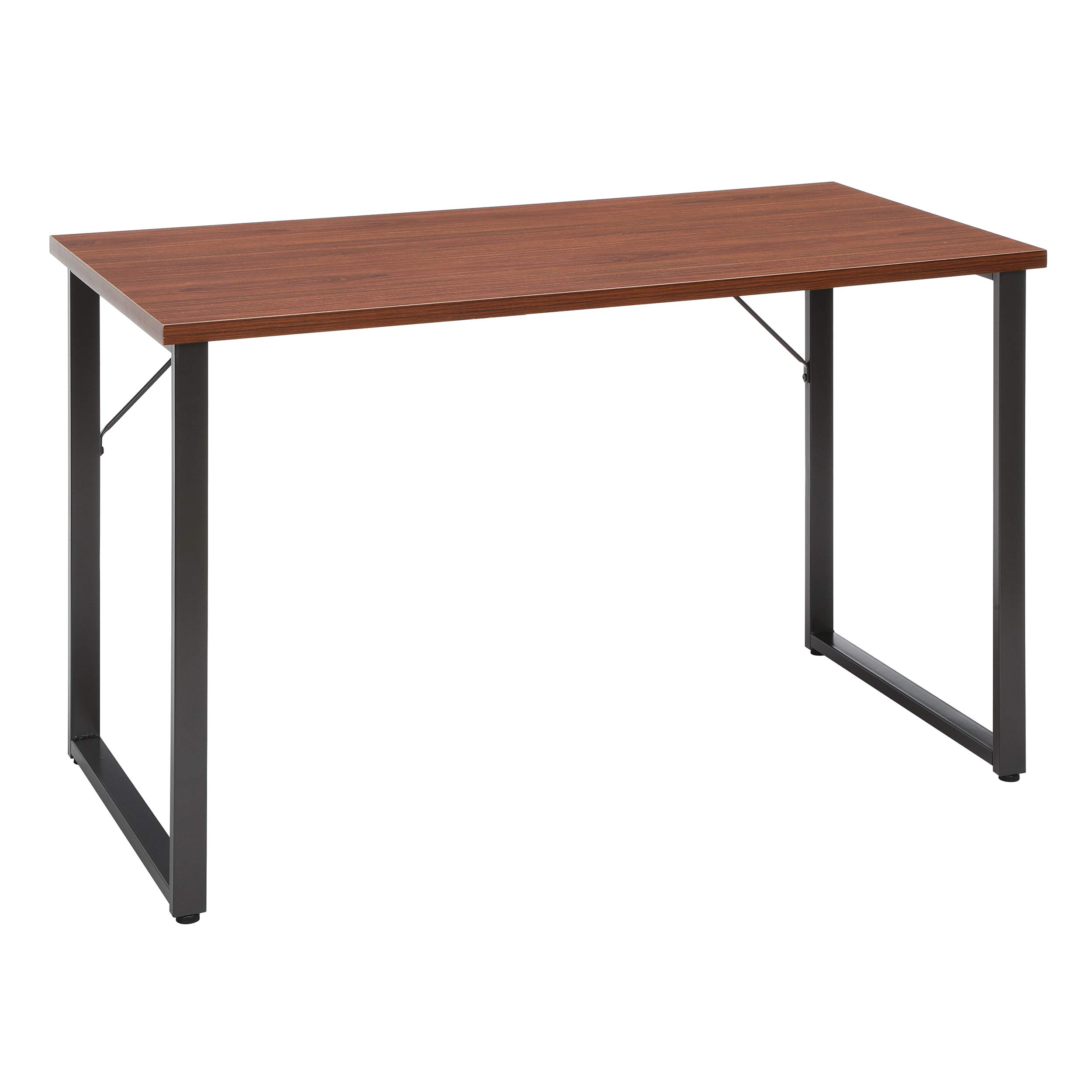 OFM Essentials Collection Modern 48'' O-Frame Computer Desk, (ESS-1006-GRY-WNT), Walnut by OFM