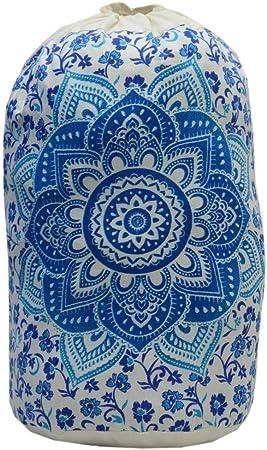 Bolsa Indian Star Mandala, Mochila Unisex, Bolsa de Playa Boho, Mochilas Multiusos, Bolsa de algodón, Bolsas de Gimnasio, Mochila Causal (Pattern 6): Amazon.es: Deportes y aire libre