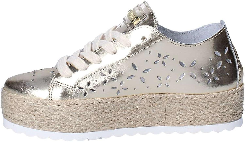 Guess Sneakers FLRLY2 LEA12 PLATI Giallo