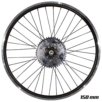 Amazon.com: Brilliant Kit de eje de rueda trasera para ...