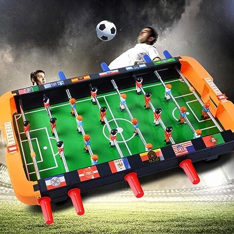 e-scenery portátil Mini futbolín de mesa futbolín fútbol mesa de ...