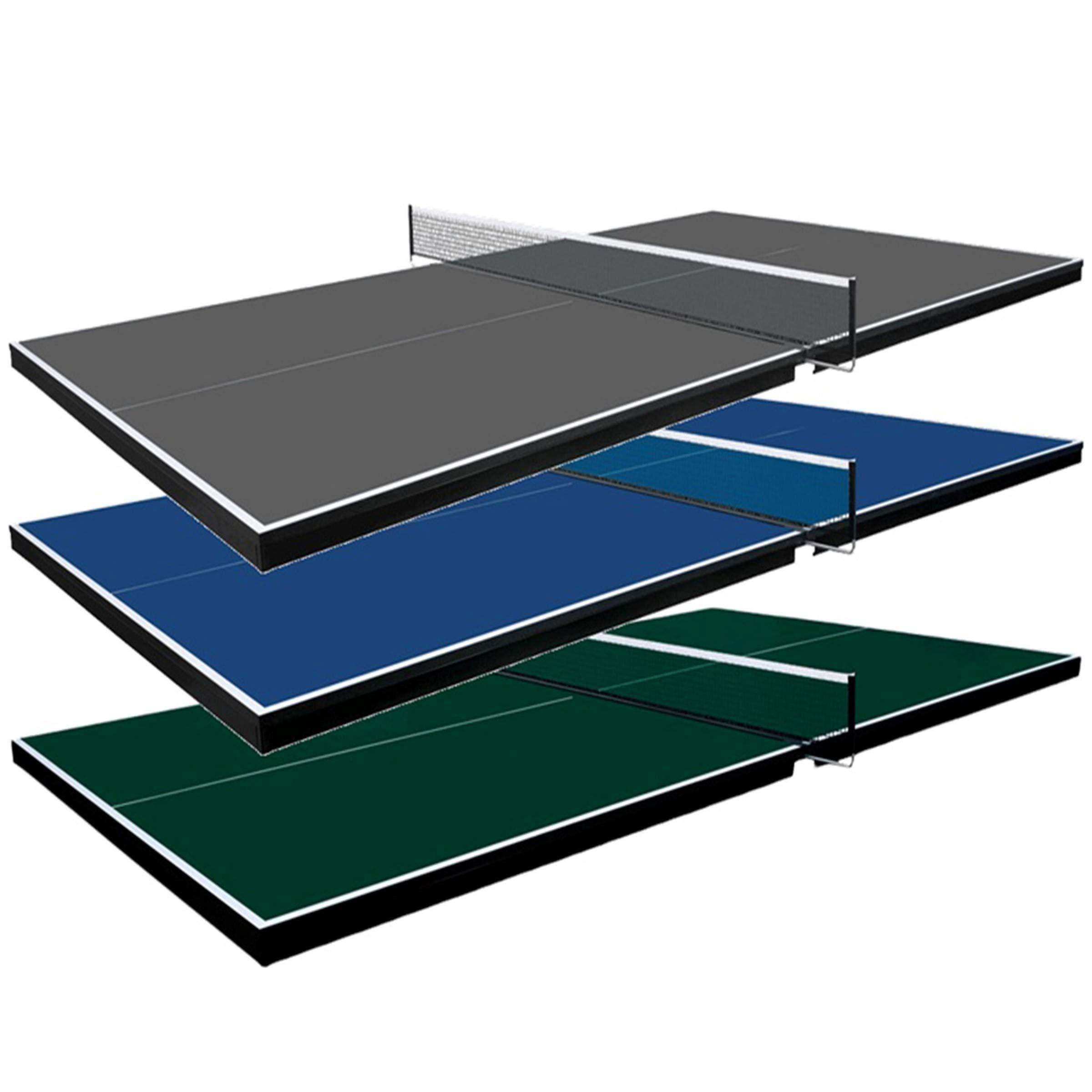 Martin Kilpatrick Ping Pong Table for Billiard Table | Conversion Table Tennis Game Table | Table Tennis Table w/ Warranty | Conversion Top for Pool Table Games | Table Top Games | Ping Pong Table Top