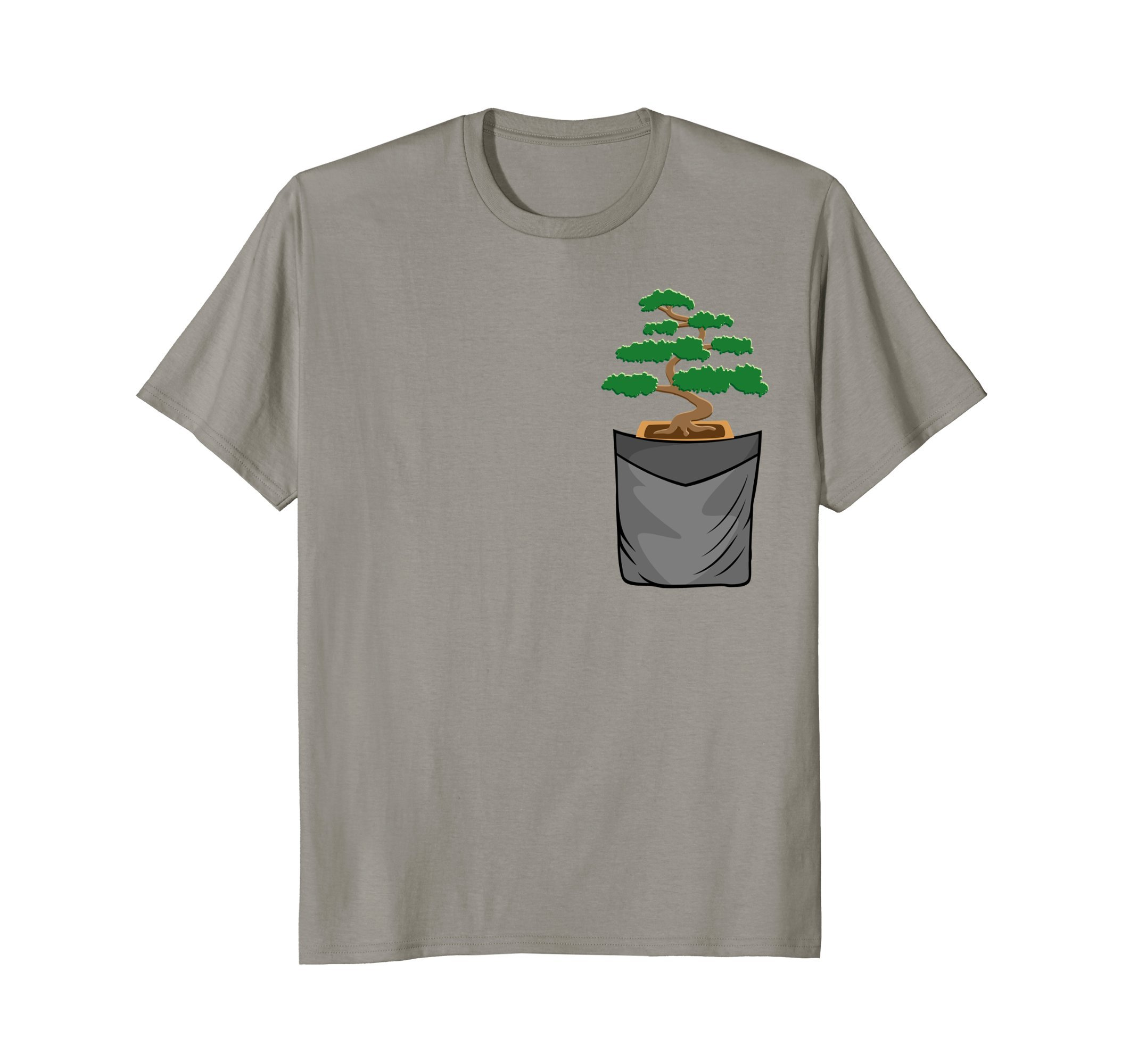 Mens Bonsai Tree Gardening Gift Japanese Zen Garden Bonsai Shirt XL Slate