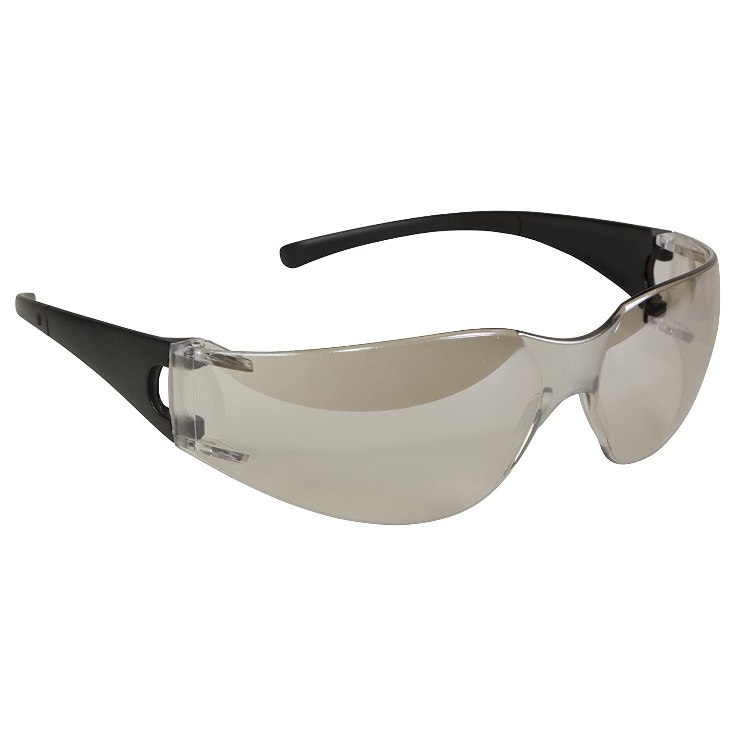 Jackson Safety 25638 V10 Element Safety Glasses, Indoor/Outdoor Lenses with Black Frame (Pack of 12) by Jackson Safety B008D7Y50S
