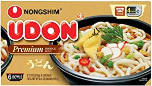 Nongshim, Udon Noodle Soup, Japanese Style, 9.73 oz