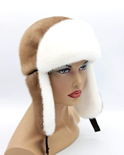 Amazon.com  Women s Mink Hat Ushanka ee997cd8852