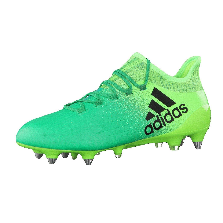 Adidas Herren X 16.1 Sg für Fußballtrainingsschuhe, Grün (Versol Negbas verbas), 44 EU