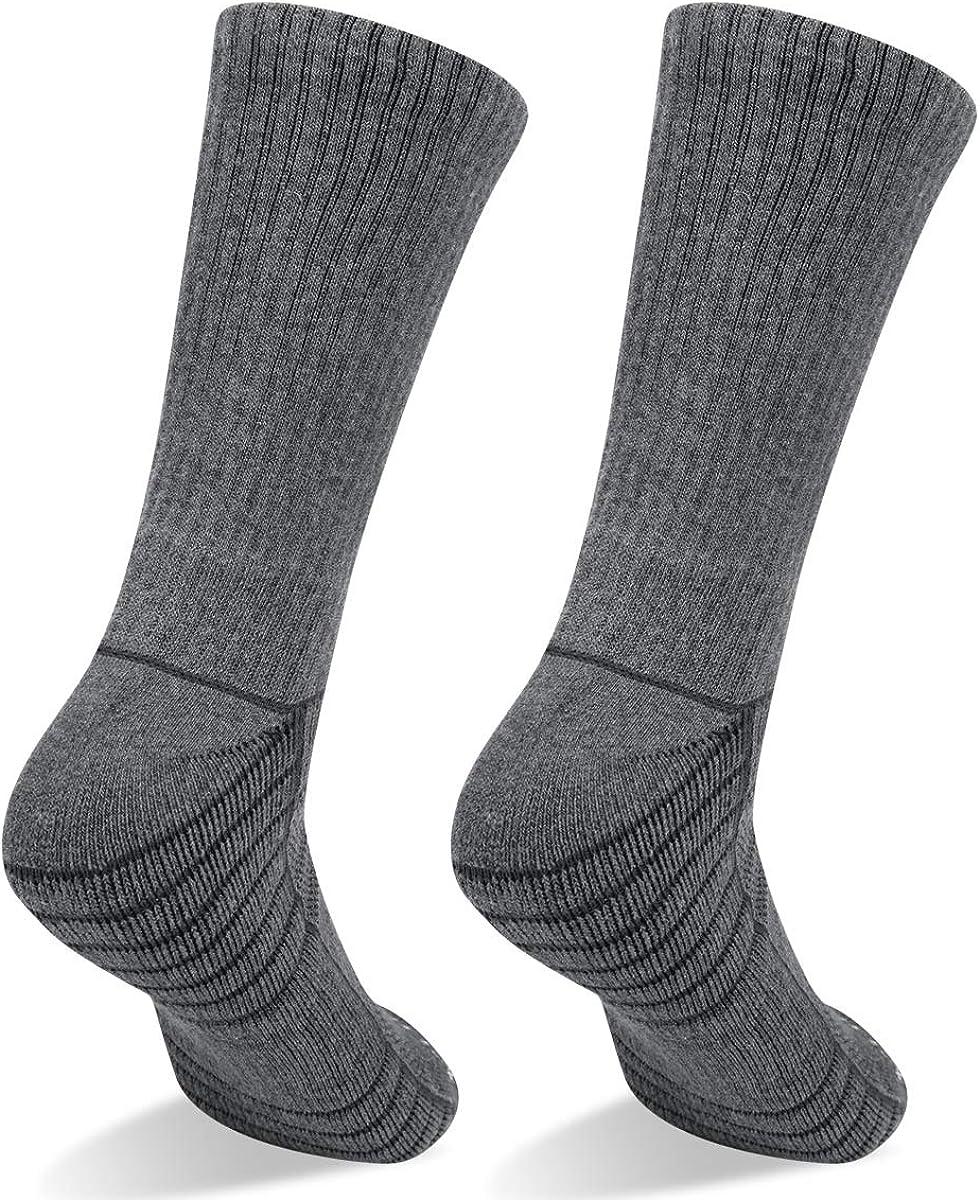 YUEDGE Womens moisture wicking crew socks comfortable breathable dry casual socks Cozy Hiking multi-functional socks