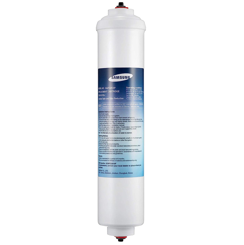 Samsung Aqua Pure - Filtro de Agua para frigorífico, Color Blanco