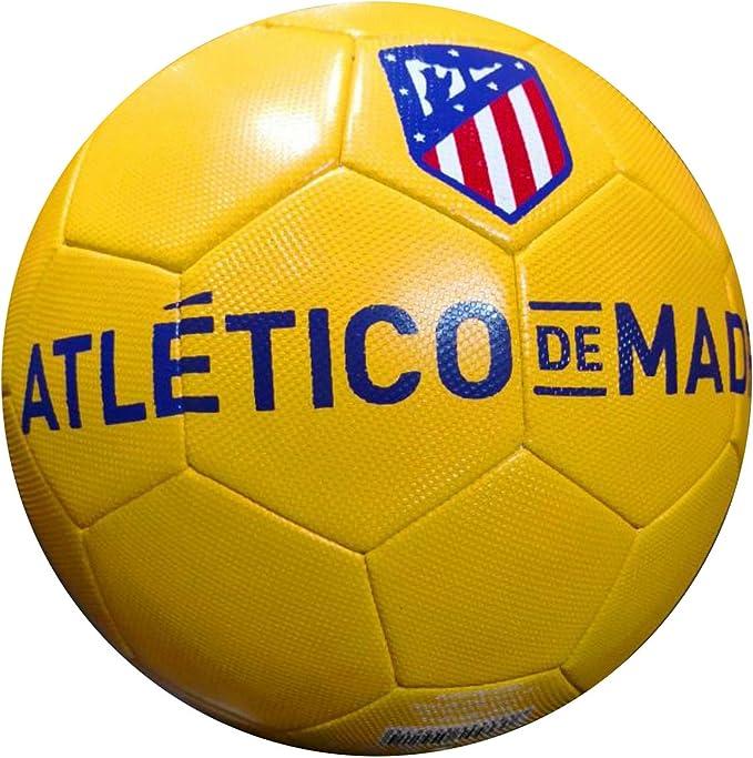 Balón Atlético de Madrid tamaño Grande: Amazon.es: Deportes y aire ...