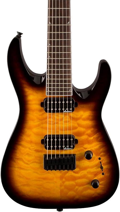 Jackson JS32 7Q Dinky Guitarra Eléctrica: Amazon.es: Instrumentos ...